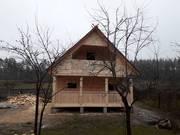 Дом/Баня 6х4 сруб из бруса Аир с мансардой