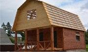 Дом-Баня из бруса готовые срубы с установкой-10 дней недор Любань