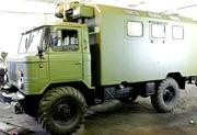 Автомобиль ГАЗ-66 с кунгом
