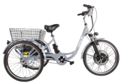 Трицикл Crolan 500W  (велогибрид)