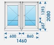 Новые Двери Пвх распродажа дешево профиль Bruegmann-5