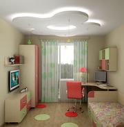 Ремонт в детской комнате выполним в Минске и области