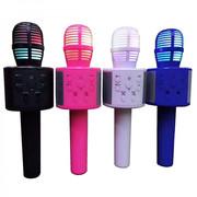Беспроводной Bluetooth Караоке-микрофон Q858
