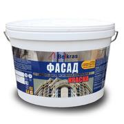 Краска фасадная акриловая водно дисперсионная «Белкрас Фасад» от 1, 9 р
