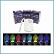 Цветная LED подсветка для унитаза с датчиком движения Light Bowl