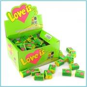 Блок жвачек Love is  Яблоко-Лимон (блок 100 шт.)