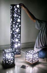 Набор из 3 х светильников,  металл