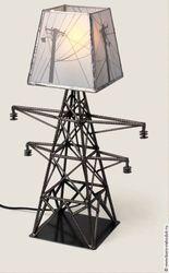 Светильник из металла 400х150х150