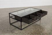 Стол стекло,  металл,  дерево 1000х500х600
