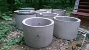 Кольца ЖБИ канализационные,  днища,  крышки для септиков