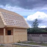 Строим Дома из бруса сруб Верона 6х6. Зеленый Бор