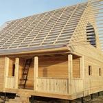 Строим Дома из бруса сруб Антон 9×9м в Заславле