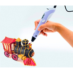 3D ручка MyRiwell RP-100B LCD (Оригинал) + пластик