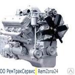 Двигатель ДВС ЯМЗ 236 из ремонта с обменом (новая поршневая,  вал кол.