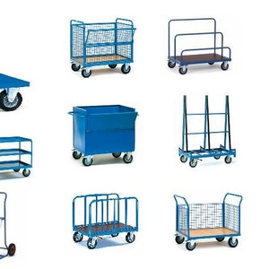 Тележки платформенные,  грузовые,  двухколесные