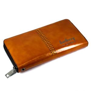 Портмоне Baellery Leather коричневый цвет.