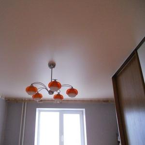 Сатиновые натяжные потолки за 1 день недорого