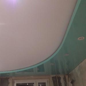 2-уровневые и криволинейные натяжные потолки. Минск и район
