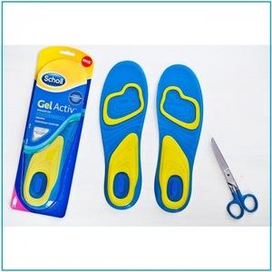 Гелевые стельки для обуви Scholl ActivGel