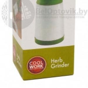 Пластиковая Мельница для специй Herb Grinder