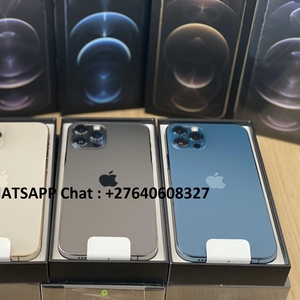 Apple iPhone 12 Pro 128GB = 500euro,  iPhone 12 Pro Max 128GB= 550euro