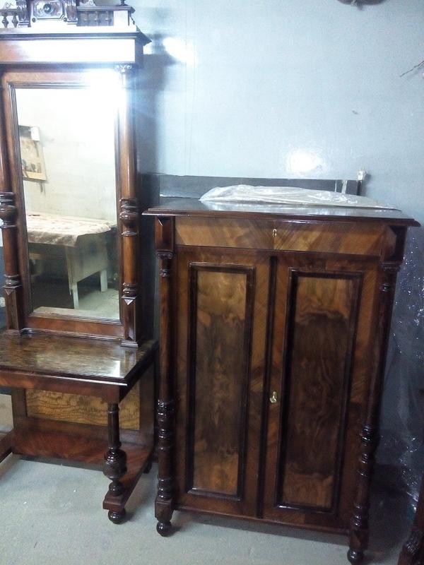 Комплект мебели,  после реставрации (Германия конец 19 нач. 20 в.) 3