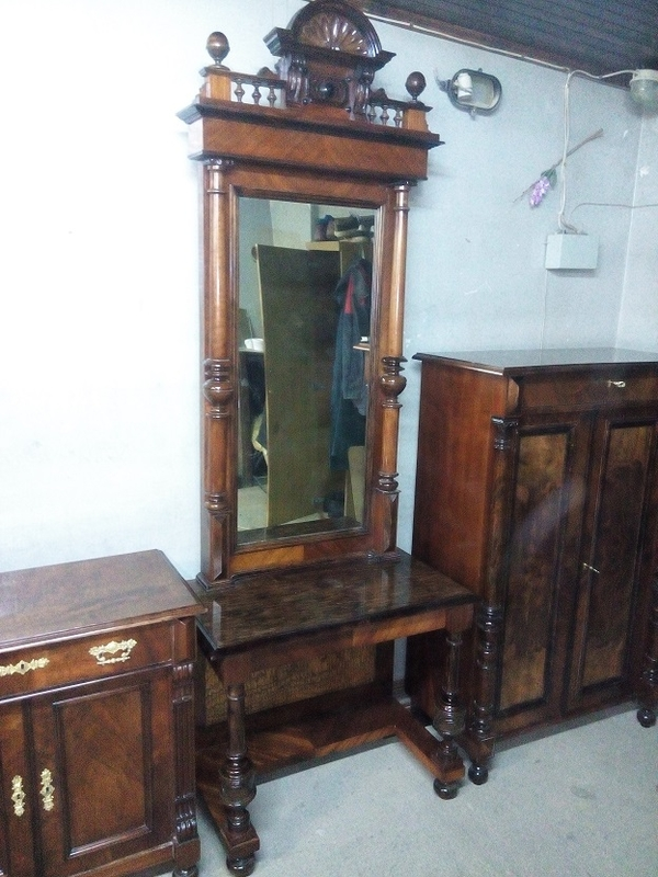 Комплект мебели,  после реставрации (Германия конец 19 нач. 20 в.) 4