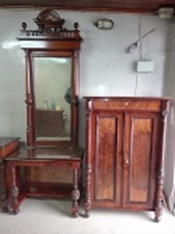 Комплект мебели,  после реставрации (Германия конец 19 нач. 20 в.) 5