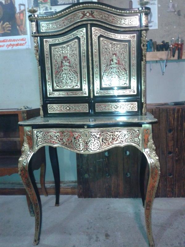 Реставрация и ремонт,  старой,  антикварной мебели 10