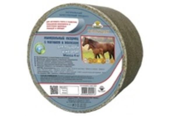 Фелуцен солевой лизунец универсальный с минералами для КРС,  коз и овец,  3кг. 5