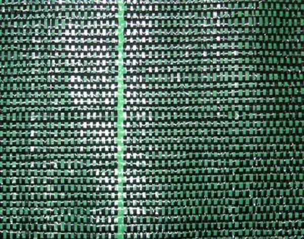 Сетка ткань для ограждения ПП200 (зеленая) 3*50м 3