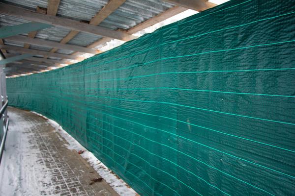 Сетка ткань для ограждения ПП200 (зеленая) 3*50м 5