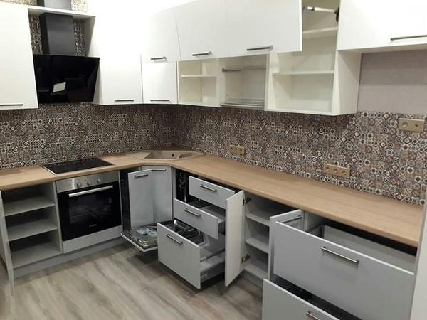 Угловые кухни под заказ Минск 2