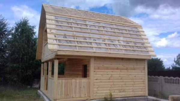 Строим Дома из бруса сруб Верона 6х6. Зеленый Бор 3