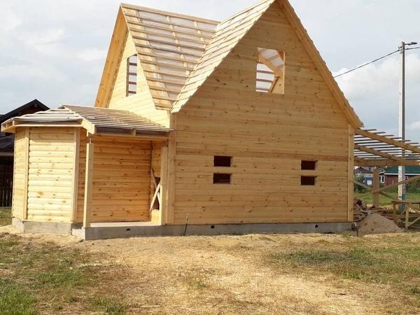 Строим Дома и бани за 10 дней . Ровные руки 100% Дзержинск 4