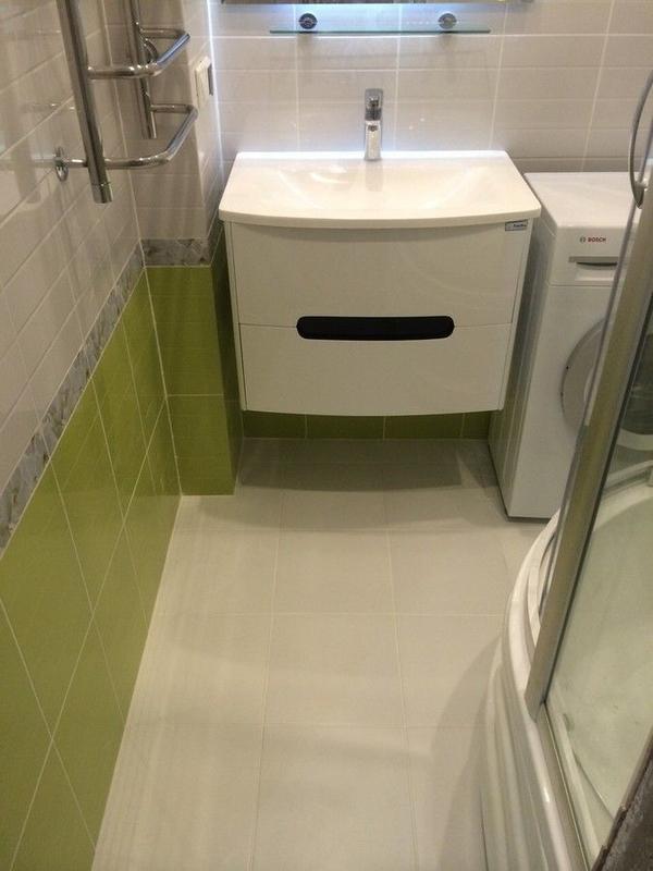 Ремонт ванной комнаты под ключ качество 100% 6