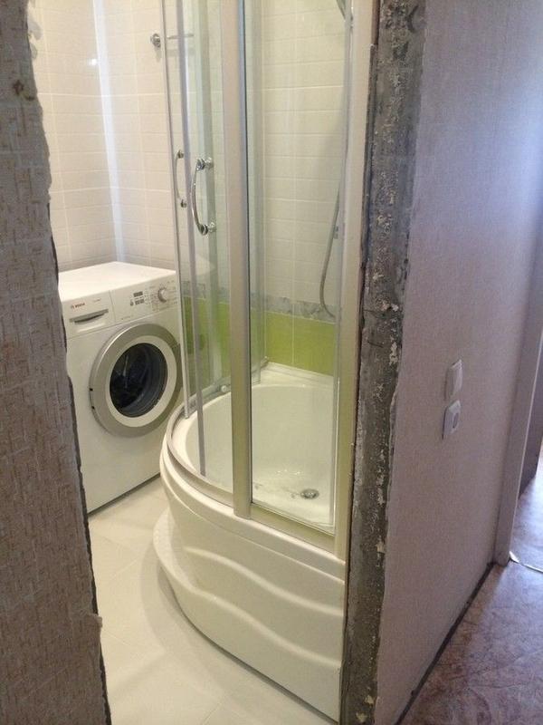 Ремонт ванной комнаты под ключ качество 100% 8