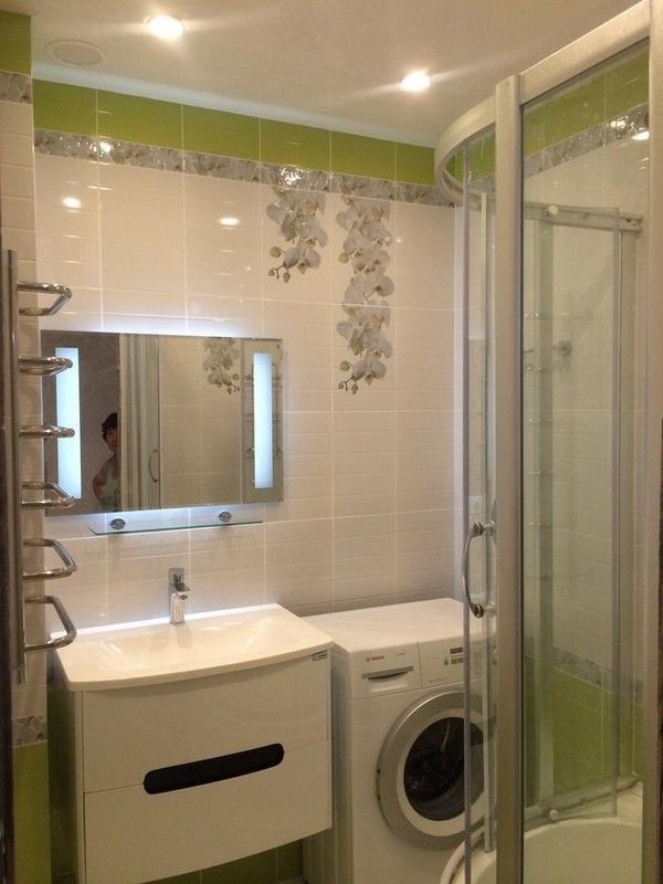 Ремонт ванной комнаты под ключ качество 100% 9