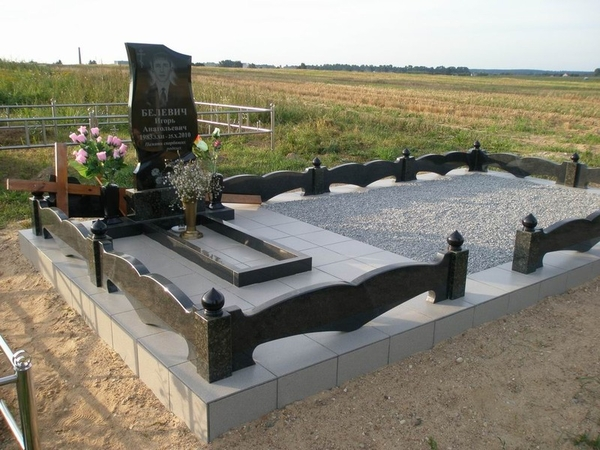 Благоустройство могил,  захоронений 2