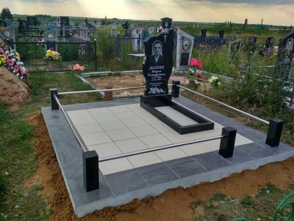 Благоустройство могил,  захоронений 3