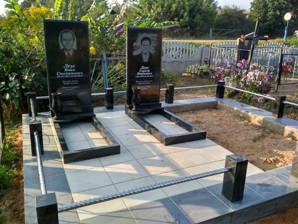 Благоустройство могил,  захоронений 4