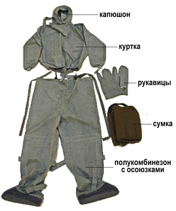 Костюм лёгкий защитный Л-1 2