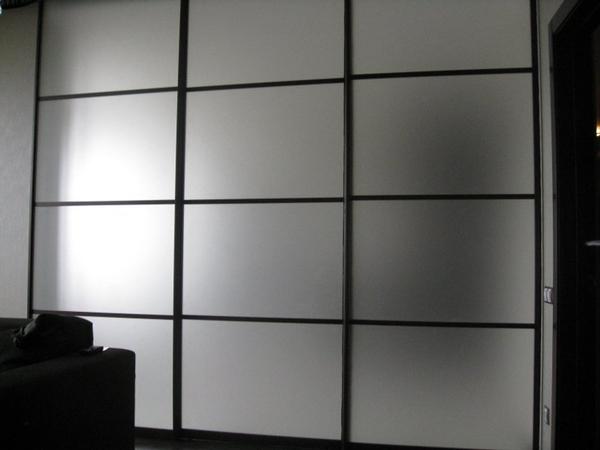 Шкаф-купе изготовим с комбинированными дверями под заказ 3