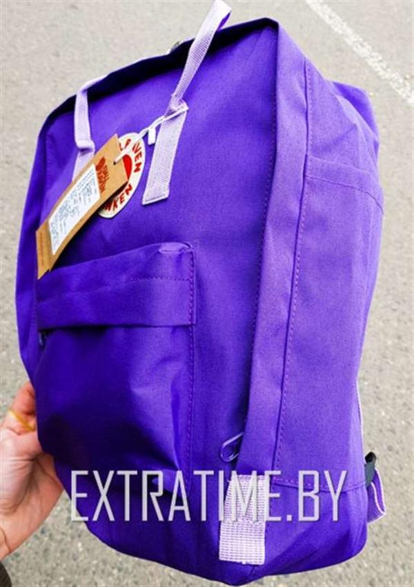 Молодежный рюкзак Kanken Fjallraven ФИОЛЕТОВЫЙ (Высокое качество) 3