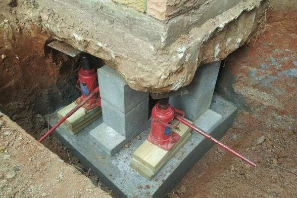 Полное восстановление,  укрепление старых фундаментов 2