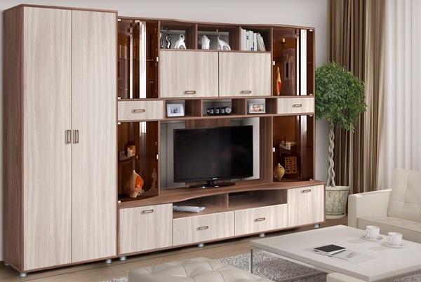 Секция в гостиную Фиджи со шкафом (3.05 м.) 2