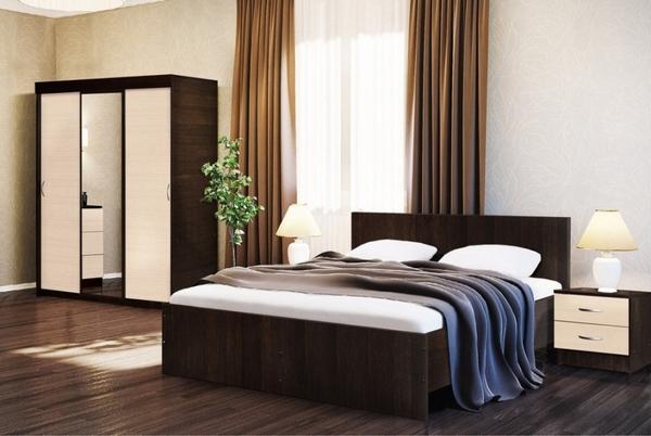 Комплект для спальни Онтарио 3 2
