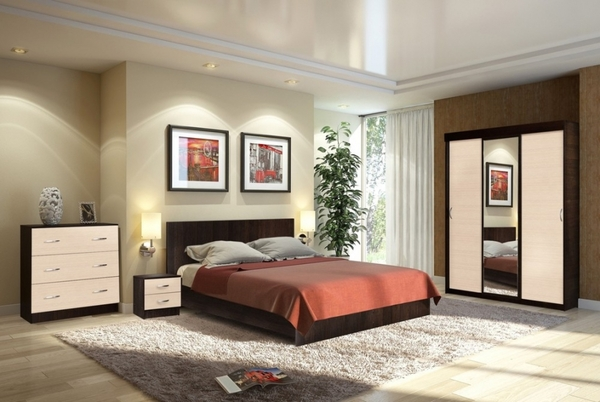 Комплект для спальни Онтарио 3 3