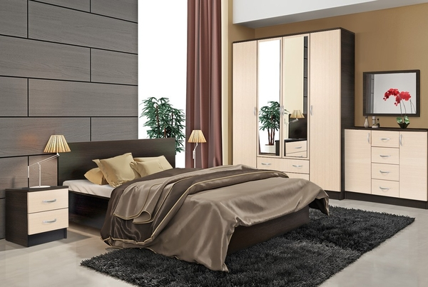 Комплект для спальни Онтарио 3 7