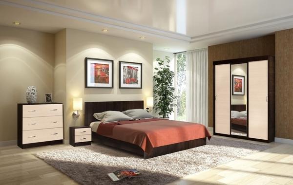 Комплект для спальни Онтарио 4
